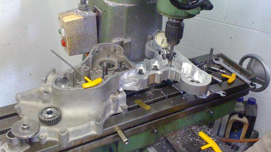 Machining, special casing, Eldee Velocette
