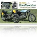 Les Diener, Eldee Velocettes, Old Bike Australasia article,