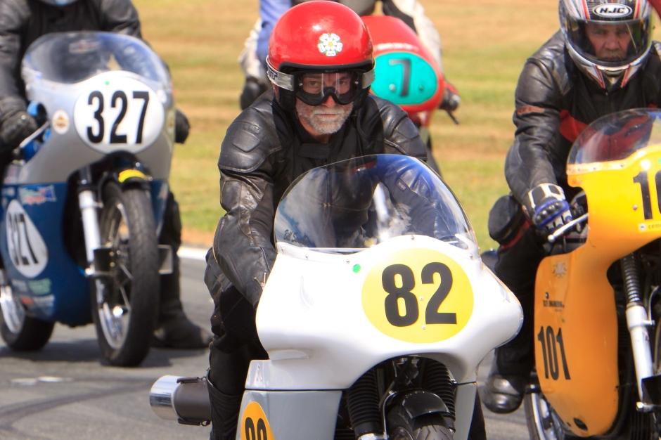 Bill Swallow, Norton, Pukekohe, NZCMRR, Classic Motorcycle Racing