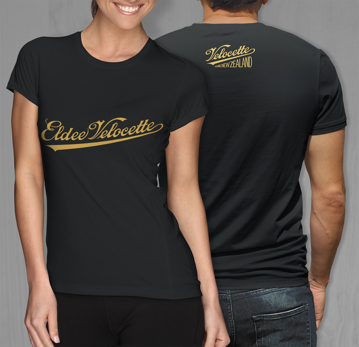 Black t shirt designs - Tee Shirts Velocetteracing