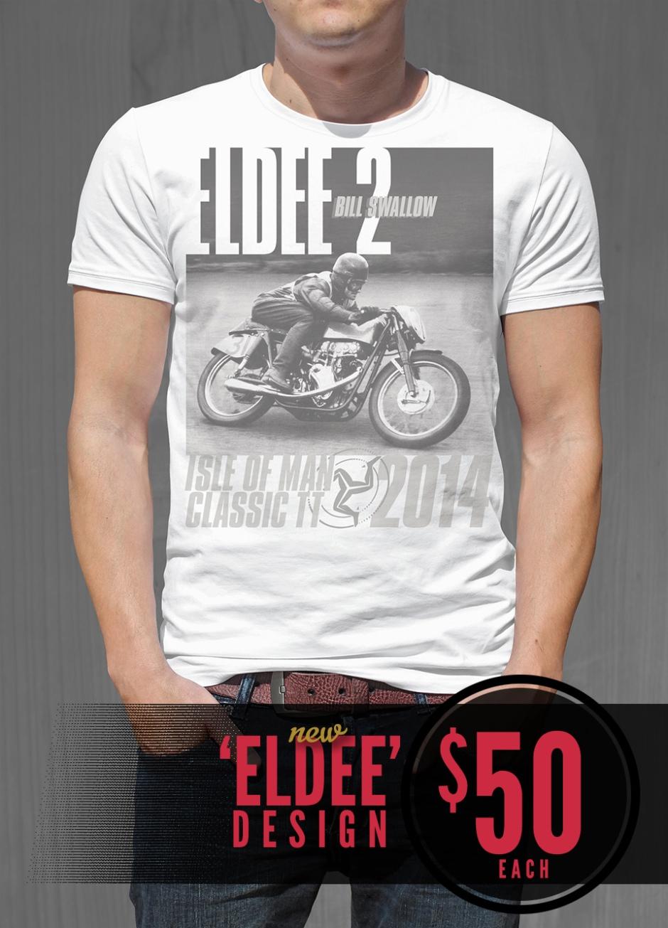 eldee velocette eldee 2 les diener racing design t shirt design front racing t shirt - Racing T Shirt Design Ideas