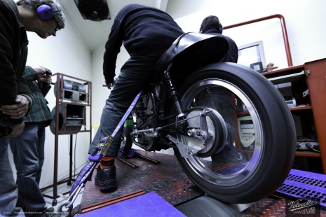 Dyno testing Eldee-2 at Motomart.