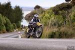 Bluff Hill, Bluff HIll Climb, Burt Munro Challenge, Flagstaff Road, Francie Winteringham, Motupohue, New Zealand, NZ Hill Climb Champs, Rider 63, Rudge TT Rep 500