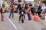 Bluff Hill, Bluff HIll Climb, Burt Munro Challenge, Kevin Ryan, Motupohue, New Zealand, NZ Hill Climb Champs, Rider 18, start finish line, Triumph Bonneville 800
