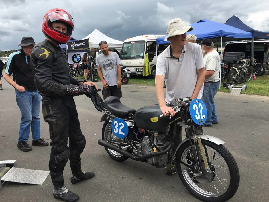 First outing for the twin cam Pukekohe 2018